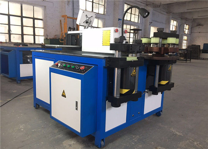 12X160mm Busbar Industrial Material Cutting Machine , Electric Metal Cutting Machine
