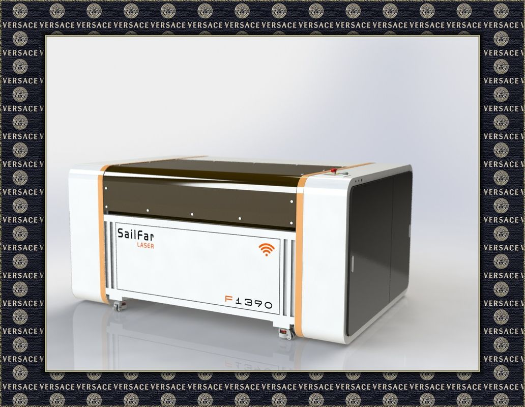 High Speed Benchtop Laser Cutting Equipment With PMI Guide Way , Wireless Control