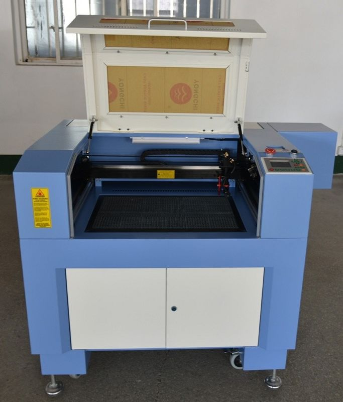80w co2 4060 laser cutting machine for advertising industry and Clothes making